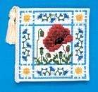 Poppy Meadow-Custodia per ferri da maglia