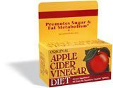Nature's Bounty Apple Cider Vinegar Diet, 90 Tablets