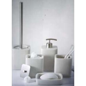 Badezimmer villeroy boch badezimmer set seifenspender for Badezimmer deko set