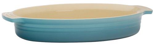 Le Creuset Stoneware 3-1/4-Quart Oval Baking Dish, Caribbean - Buy Le Creuset Stoneware 3-1/4-Quart Oval Baking Dish, Caribbean - Purchase Le Creuset Stoneware 3-1/4-Quart Oval Baking Dish, Caribbean (Le Creuset, Home & Garden, Categories, Kitchen & Dining, Cookware & Baking, Baking, Bakers & Casseroles)