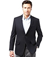 Soft Touch Notch Lapel 1 Button Blazer