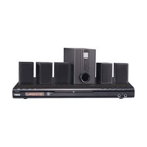 Naxa ND-845 Home Theater System with Progressive Scan DVD Player and Karaoke Function