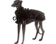 Ital Trend Mink Faux Fur Reversible Dog Coat (XLarge) 14 inch