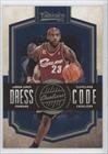 LeBron James Cleveland Cavaliers (Basketball Card) 2009-10 Classics Dress Code #18 Amazon.com