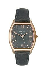 Fossil Wallace Ash Grey Leather Women's watch #ES3056