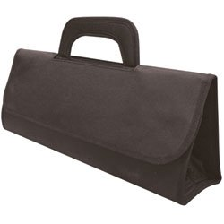 City Lights Heat Resistant Fold-Up Tool Tote, Black