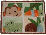 Lambs & Ivy Papagayo Rug, Green