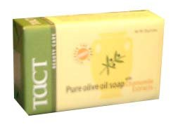 Pure Olive Oil Soap with Chamomile (tact), 125g