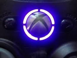 Xbox 360 controller led mod RING OF LIGHT LEDS- PURPLE