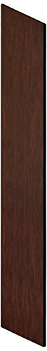 Salsbury Industries 33336MAH Side Panel for 21-Inch Deep Designer Wood Locker with Sloping Hood, Mahogany Brown