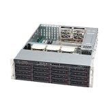 Supermicro 1200 Watt 3U Rackmount Server Chassis, Black (CSE-836E16-R1200B)