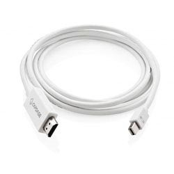 Capdase Minidisplay Port to HDMI Cable (White)