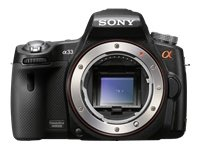 Sony Alpha SLT-A33 Digital Camera with Translucent Mirror Technology and 3D Sweep Panorama (Camera Body only) (Black)