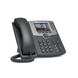 Cisco 5 Line IP Phone with Color Display, PoE, 802.11g