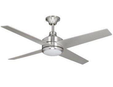 Home Decorators Mercer 52 in. Brushed Nickel Ceiling Fan (52 Brushed Nickel Ceiling Fan compare prices)