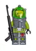 LEGO ATLANTIS - Lance Spears with Black Harpoon Spear Minifigure