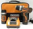 Ridgid ZRR92009 Fuego 12V Cordless Lithium-Ion 3/8 in. Drill Driver and Flashlight Combo Kit