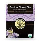 Passion Flower Tea - Organic Herbs - 18 Bleach Free Tea Bags