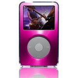 Belkin Acrylic and Brushed Metal Case for iPod 5G, 5.5G (Pink)