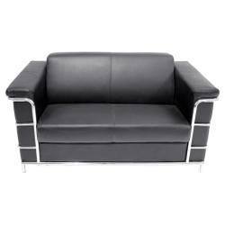 Buy Low Price Regency Office Furniture Cambridge Loveseat – 7902BK (7902BK)