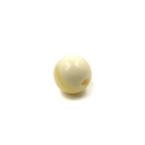 Genuine Baltic Butterscotch Amber Drilled Bead, 6mm