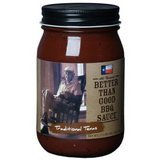 Better Than Good BBQ Sauce 16Oz Jar (Pack Of 3) (Traditional Texas)