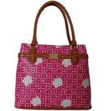 Tommy Hilfiger Pink Floral Shopper Tote Bag Handbag Purse