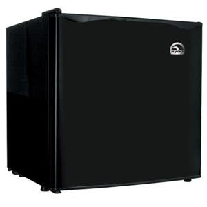 Black Mini Refrigerator front-37002