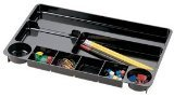 OfficemateOIC Recycled Drawer Organizer, Black (26032)