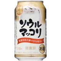 サントリー ソウルマッコリ  缶 350ML 1本
