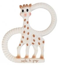 Sophie the Giraffe teething ring toy soft silicone rubber