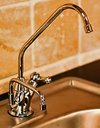 Jupiter Ionizer Undersink Installation Kit - 2 Headed - Brushed Nickel Faucet (Water Ionizer Adapter Faucet compare prices)