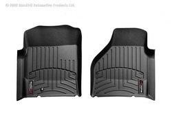 WeatherTech Custom Fit Front FloorLiner for Select Dodge Ram Models (Black) (2005 Dodge Ram Weathertech compare prices)
