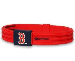 New Phiten Sport Medium Boston Red Sox Bracelet MLB X30