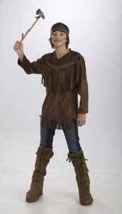 Teenz - Native American Brave Costume Size Teen