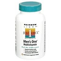 Rainbow Light Just Once Naturals Mens One Multivitamin 90 Tablets 214090