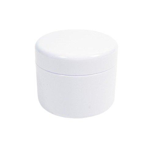 カミオカ 詰替容器 ジャー 100g ホワイト AS