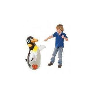 3D Bop Bag Blow Up Inflatable Penguin