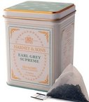 Harney and Sons Winter White Earl Grey, Flavored White 20 Sachets per Tin