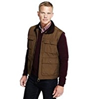 Blue Harbour Cotton Rich Gilet