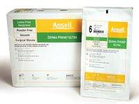 """Pt# 8514- Glove Surgical Pf Neoprn Lf Sz 7 Green Derma Prene Ultra 50Pr/Bx By, Ansell Us"""