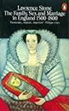 Family, Sex and Marriage in England 1500-1800 (Penguin History) (0140137211) by Stone, Lawrence