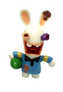 Rabbids in Sports - Rugby Figure / Plus One Mystery Figure