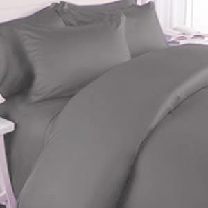 Js Sanders 1500 Series Microfiber Full Size 4Pc Bed Sheet Set, Gray front-348875
