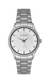 Skagen Women's 347SSX Stainless Steel Bracelet Watch