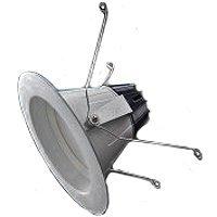 Sylvania 70644 6-Inch Line-Voltage White LED Open Recessed Kit