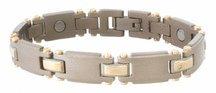 Titanium Duet Magnetic Bracelet from Sabona