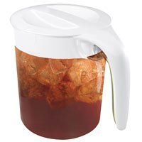 Mr Coffee Iced Tea Maker Replacement Glass Pitcher : Mr. Coffee TP70 Tea Maker Replacement Pitcher for TM70, 3 quart, Clear/White (072179230557 ...