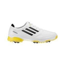 Adidas Adizero 6Spike White/Yellow (WIDE)