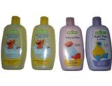 Bundle (4 Items) Sesame Street Hair and Body Wash/Lotion/Night Time Lotion Pack